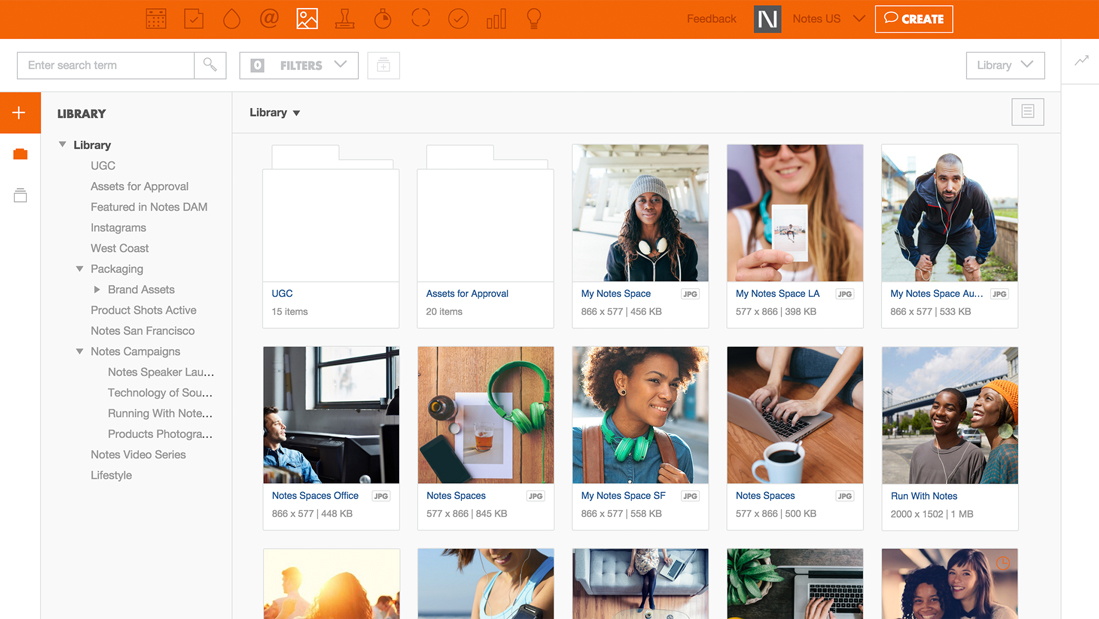 Percolate Brand Management Software