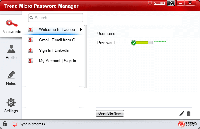Trend-Mirco-Password-Manager-Software