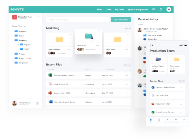 Egnyte Collaboration Software