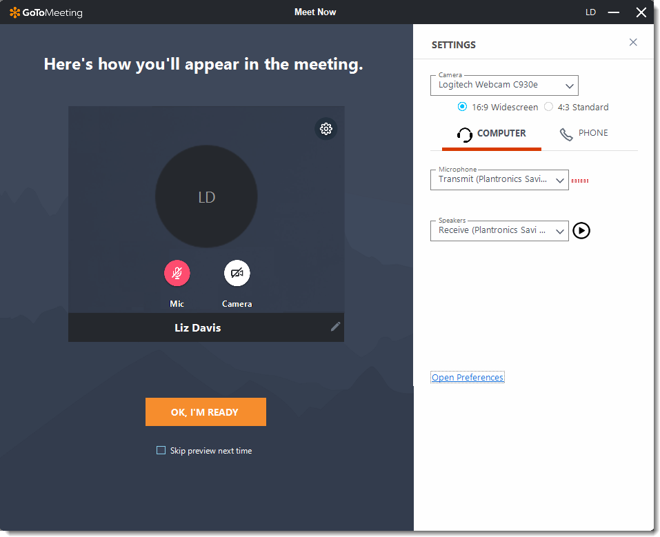 GoToMeeting Collaboration Software